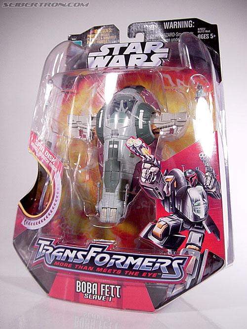 Star Wars Transformers Boba Fett (Slave I) (Image #10 of 82)