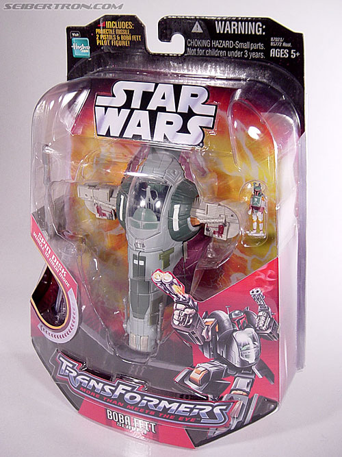 Star Wars Transformers Boba Fett (Slave I) (Image #11 of 82)