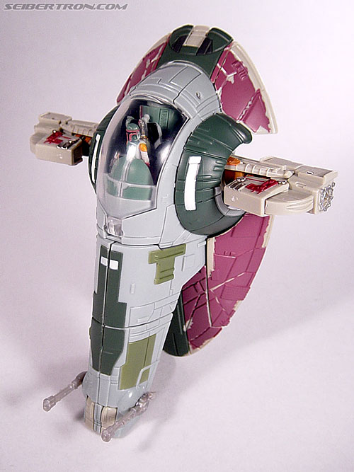 Star Wars Transformers Boba Fett (Slave I) (Image #54 of 82)