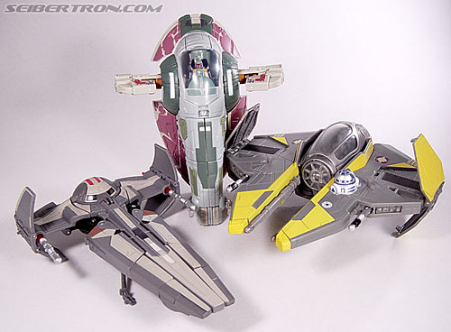 Star Wars Transformers Boba Fett (Slave I) (Image #55 of 82)