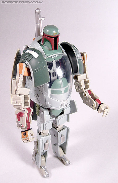 Star Wars Transformers Boba Fett (Slave I) (Image #59 of 82)