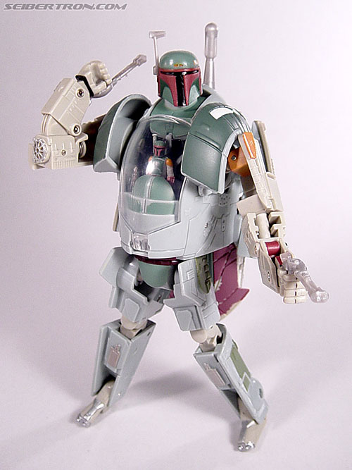 Star Wars Transformers Boba Fett (Slave I) (Image #71 of 82)