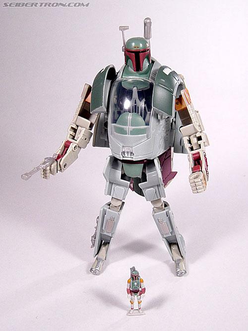 Star Wars Transformers Boba Fett (Slave I) (Image #78 of 82)