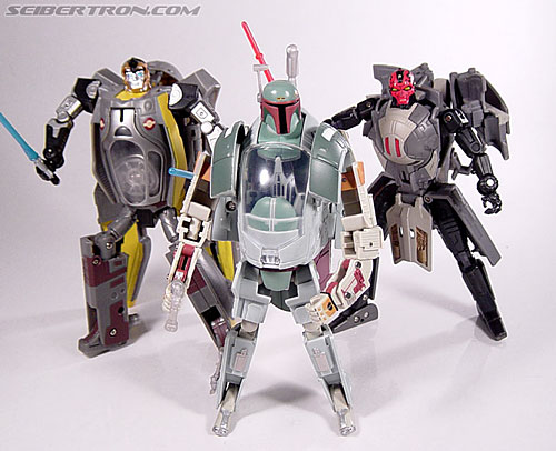 Star Wars Transformers Boba Fett (Slave I) (Image #80 of 82)
