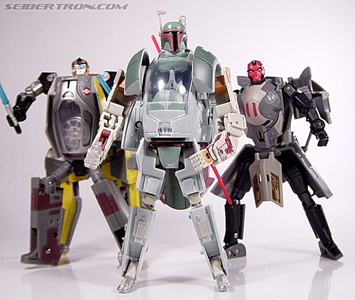 Star Wars Transformers Boba Fett (Slave I) (Image #81 of 82)