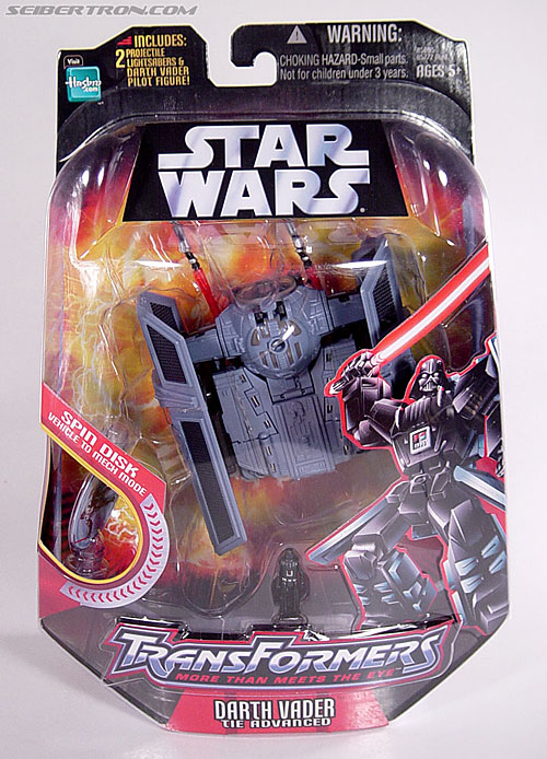 Star Wars Transformers Darth Vader (TIE Advanced) (Image #1 of 133)