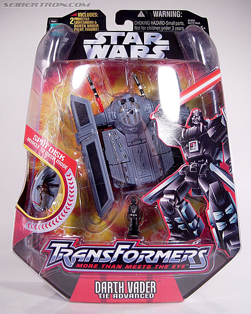 Star Wars Transformers Darth Vader (TIE Advanced) (Image #2 of 133)