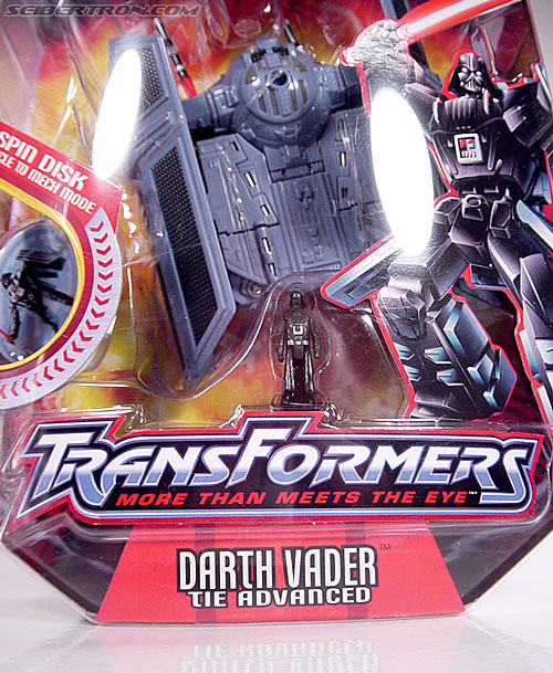 Star Wars Transformers Darth Vader (TIE Advanced) (Image #3 of 133)