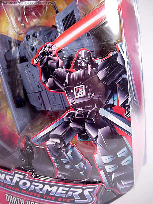 Star Wars Transformers Darth Vader (TIE Advanced) (Image #4 of 133)