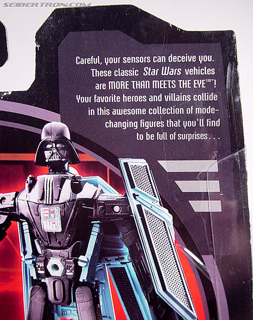 Star Wars Transformers Darth Vader (TIE Advanced) (Image #16 of 133)