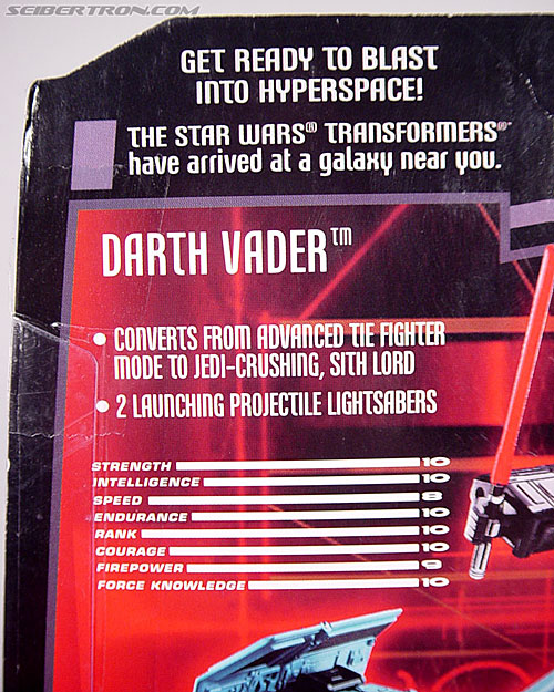 Star Wars Transformers Darth Vader (TIE Advanced) (Image #17 of 133)