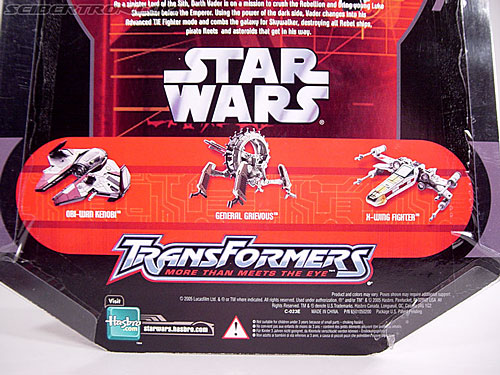 Star Wars Transformers Darth Vader (TIE Advanced) (Image #19 of 133)