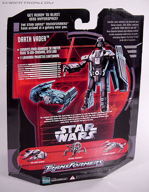 Star Wars Transformers Darth Vader (TIE Advanced) (Image #21 of 133)