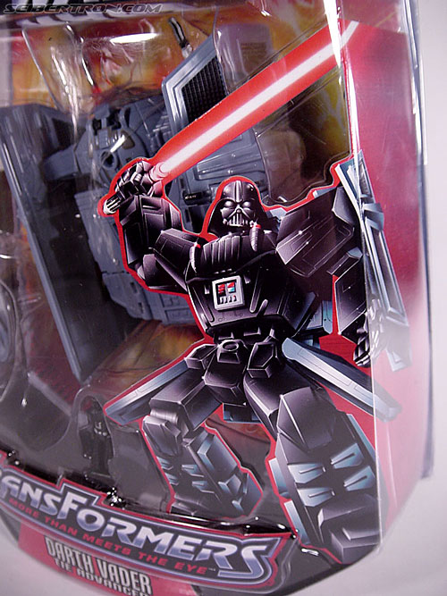 Star Wars Transformers Darth Vader (TIE Advanced) (Image #22 of 133)