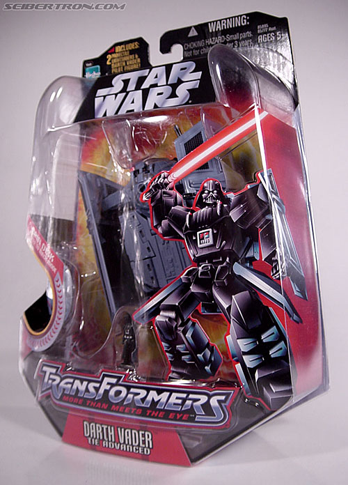 Star Wars Transformers Darth Vader (TIE Advanced) (Image #23 of 133)