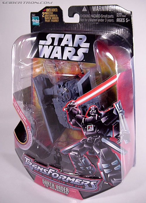 Star Wars Transformers Darth Vader (TIE Advanced) (Image #24 of 133)