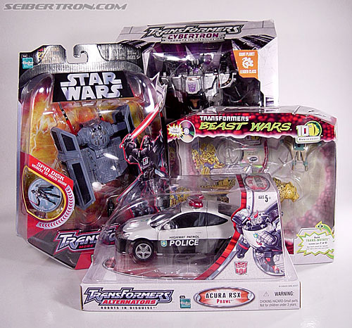 Star Wars Transformers Darth Vader (TIE Advanced) (Image #25 of 133)