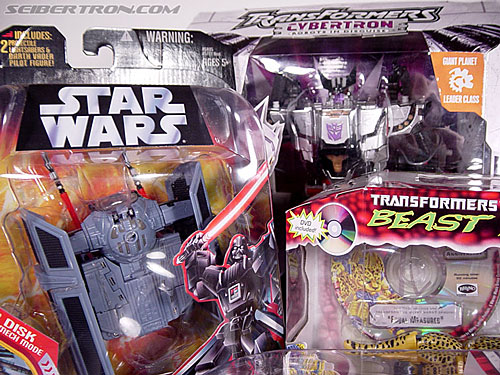 Star Wars Transformers Darth Vader (TIE Advanced) (Image #27 of 133)