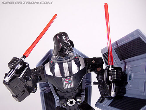 Star Wars Transformers Darth Vader (TIE Advanced) (Image #112 of 133)