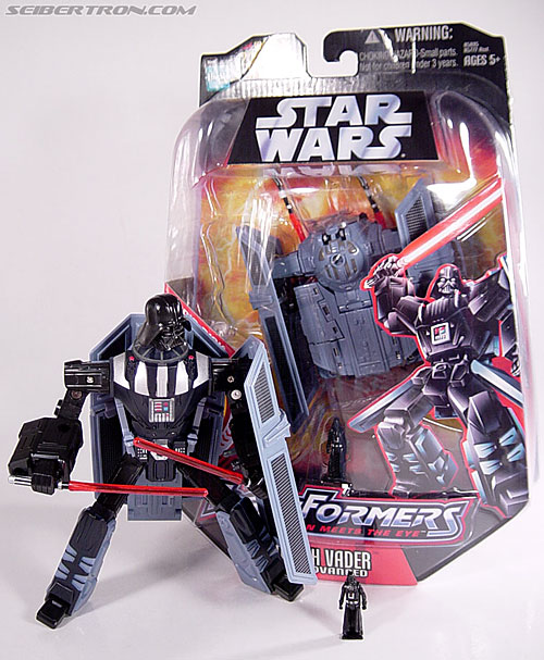 Star Wars Transformers Darth Vader (TIE Advanced) (Image #132 of 133)