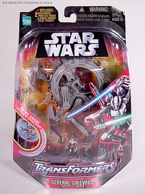 Star Wars Transformers General Grievous (Wheel Bike) (Image #1 of 117)