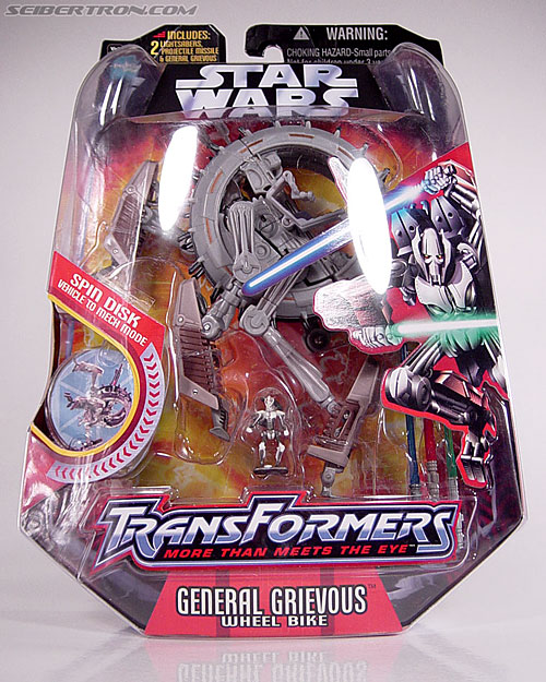 Star Wars Transformers General Grievous (Wheel Bike) (Image #2 of 117)