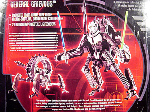 Star Wars Transformers General Grievous (Wheel Bike) (Image #18 of 117)