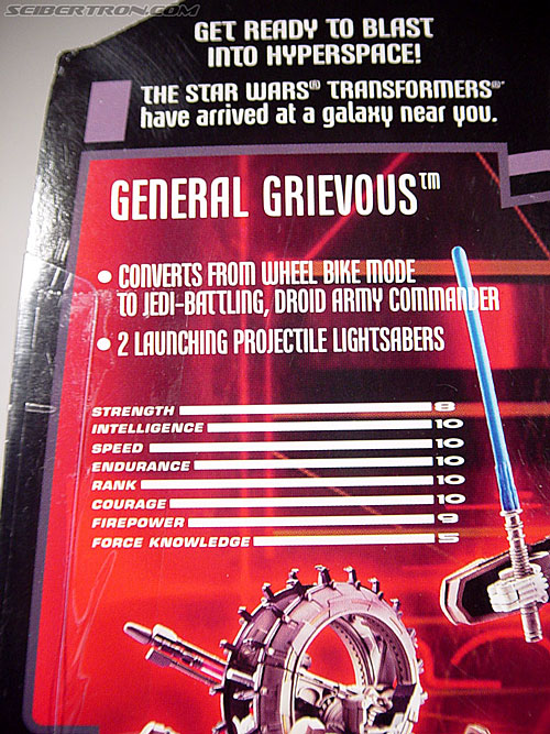 Star Wars Transformers General Grievous (Wheel Bike) (Image #19 of 117)