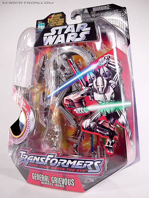 Star Wars Transformers General Grievous (Wheel Bike) (Image #24 of 117)