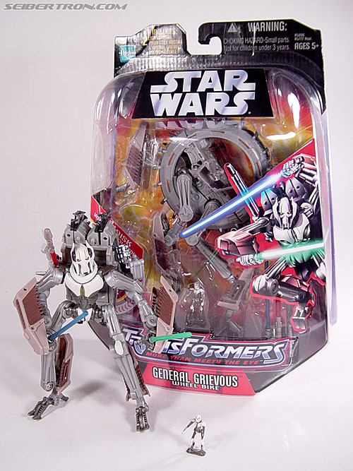 Star Wars Transformers General Grievous (Wheel Bike) (Image #116 of 117)