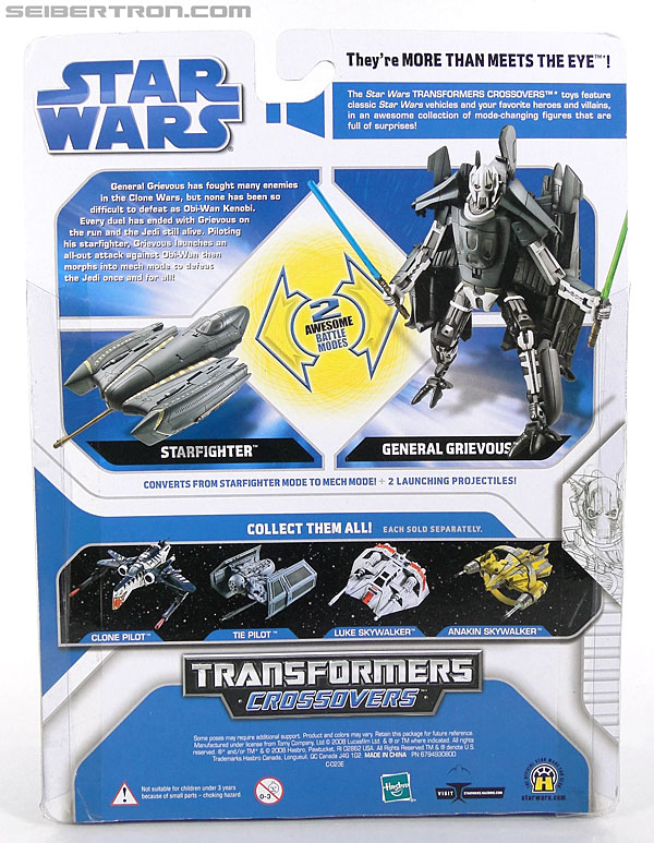Star Wars Transformers General Grievous (Grievous Starfighter) (Image #7 of 82)