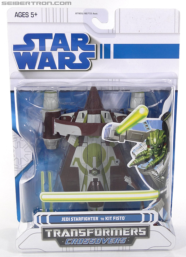 Star Wars Transformers Kit Fisto (Jedi Starfighter) (Image #1 of 104)