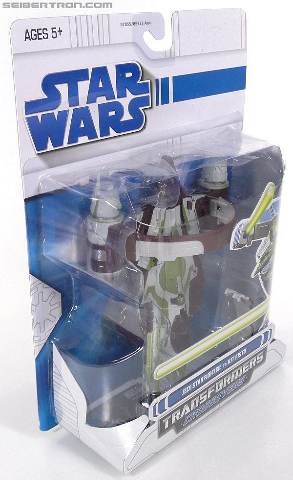 Star Wars Transformers Kit Fisto (Jedi Starfighter) (Image #5 of 104)