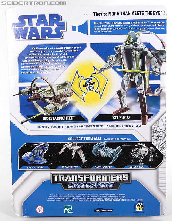 Star Wars Transformers Kit Fisto (Jedi Starfighter) (Image #7 of 104)