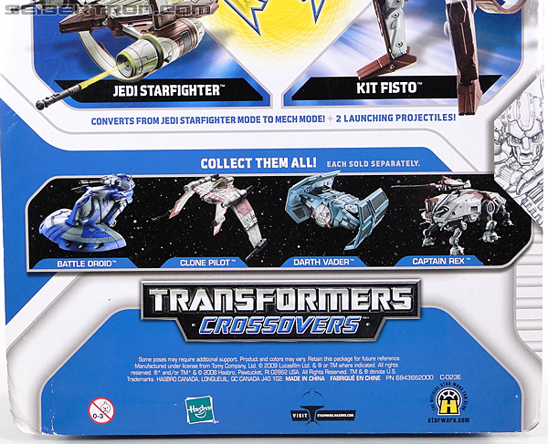 Star Wars Transformers Kit Fisto (Jedi Starfighter) (Image #9 of 104)