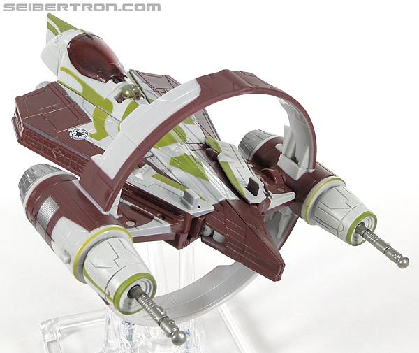 Star Wars Transformers Kit Fisto (Jedi Starfighter) (Image #17 of 104)