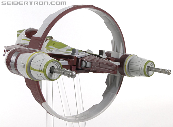 Star Wars Transformers Kit Fisto (Jedi Starfighter) (Image #18 of 104)