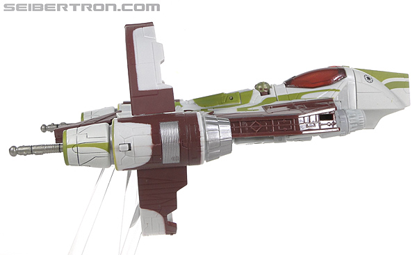 Star Wars Transformers Kit Fisto (Jedi Starfighter) (Image #24 of 104)