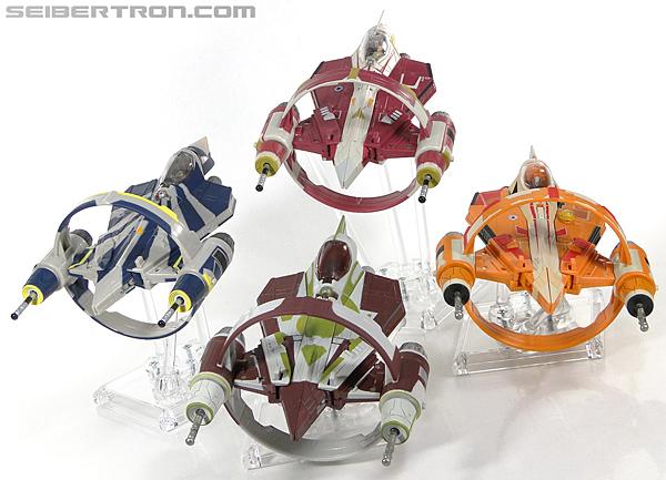 Star Wars Transformers Kit Fisto (Jedi Starfighter) (Image #35 of 104)