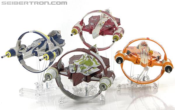 Star Wars Transformers Kit Fisto (Jedi Starfighter) (Image #36 of 104)