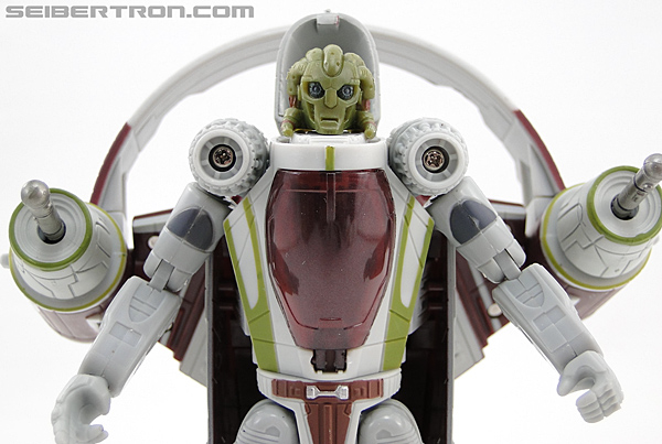 Star Wars Transformers Kit Fisto (Jedi Starfighter) (Image #40 of 104)