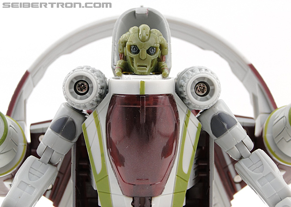 Star Wars Transformers Kit Fisto (Jedi Starfighter) (Image #42 of 104)