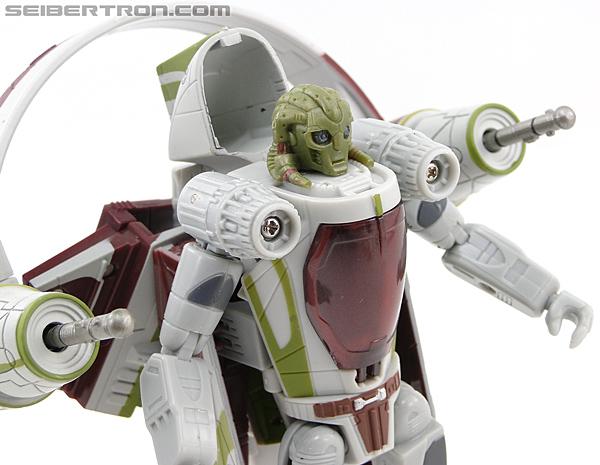 Star Wars Transformers Kit Fisto (Jedi Starfighter) (Image #44 of 104)