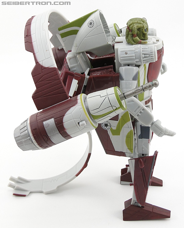 Star Wars Transformers Kit Fisto (Jedi Starfighter) (Image #47 of 104)