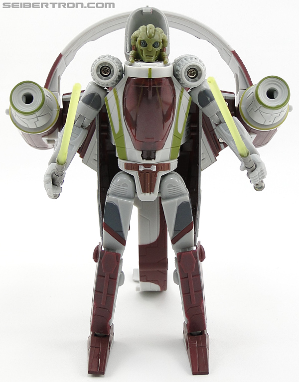 Star Wars Transformers Kit Fisto (Jedi Starfighter) (Image #48 of 104)