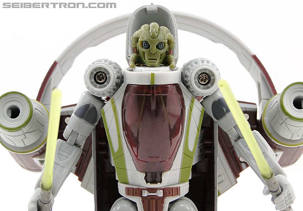 Star Wars Transformers Kit Fisto (Jedi Starfighter) (Image #49 of 104)