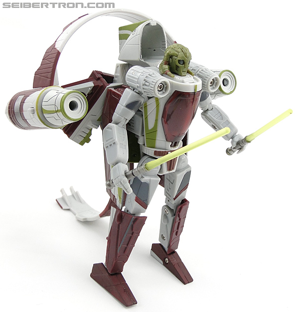Star Wars Transformers Kit Fisto (Jedi Starfighter) (Image #53 of 104)