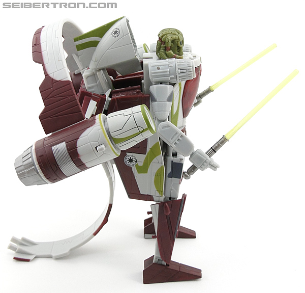 Star Wars Transformers Kit Fisto (Jedi Starfighter) (Image #54 of 104)