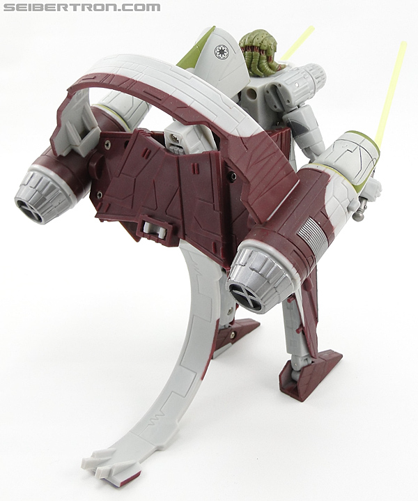 Star Wars Transformers Kit Fisto (Jedi Starfighter) (Image #55 of 104)