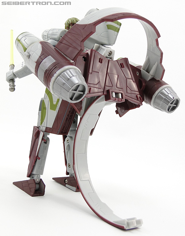 Star Wars Transformers Kit Fisto (Jedi Starfighter) (Image #57 of 104)